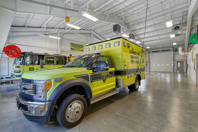 Goshen Township Fire Station 19 - Conger Construction Group